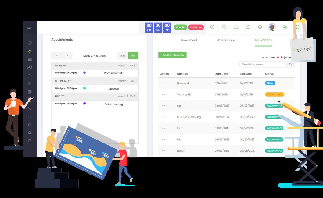 PlanStreet Financial Management Software