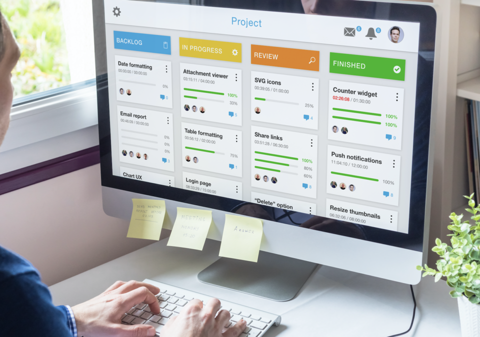 Kanban Boards for Financial Services