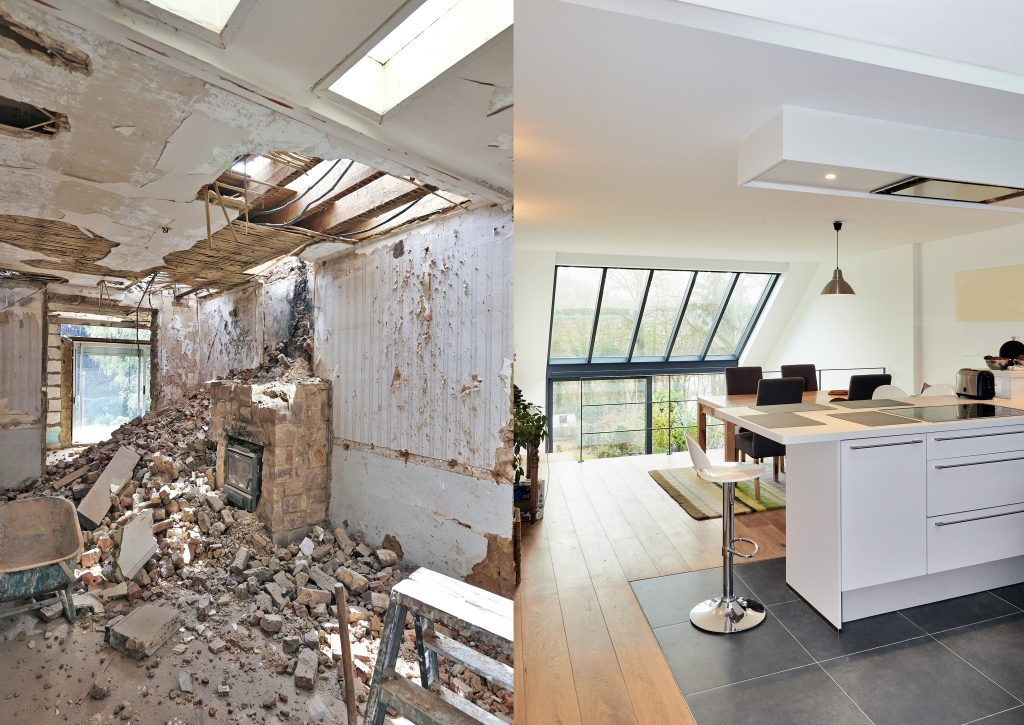 difference between remodeling and renovating