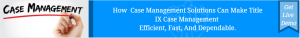 PlanStreet offers Title IX Case Management